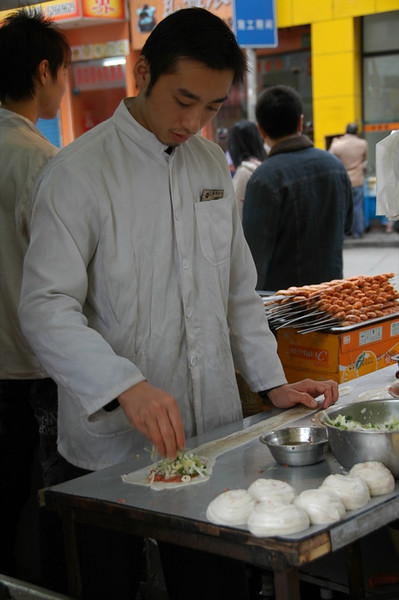 Shanghai Street Food - Shanghai, China