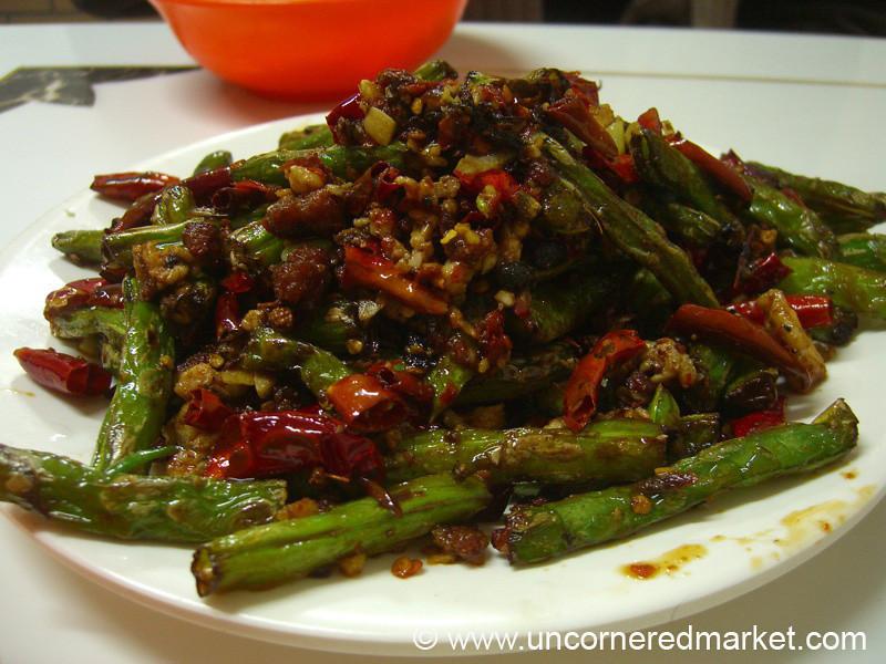 Sichuan Green Beans - Beijing, China