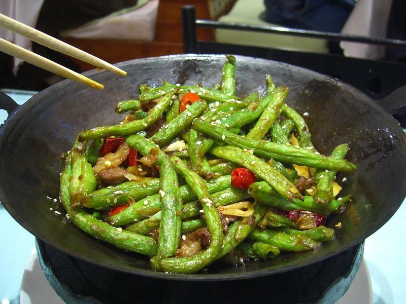 Fried Green Beans - Urumqi, China