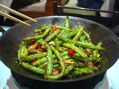 Fried Green Beans - Urumqi, China