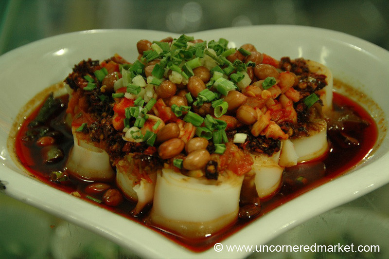 Chinese Heart-Shaped Meal - Kaili, China