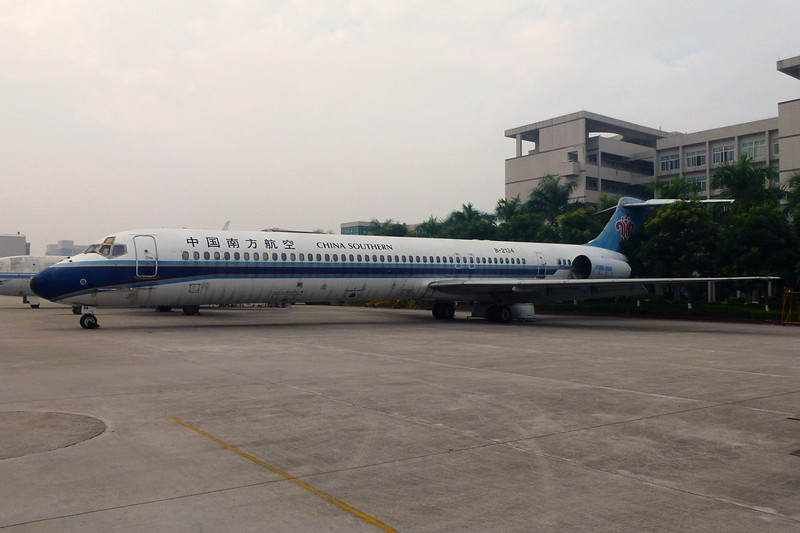 "B-2134 Douglas MD-82 ""China Southern Airlines"" c/n 49518 Guangzhou/ZGGG/CAN 15-11-12"