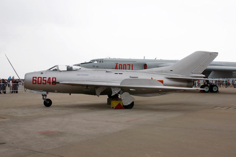 60549 Shenyang J-6I c/n 60606 Zhuhai/ZGSD/ZUH 16-11-12