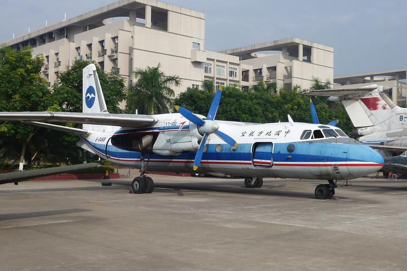 """B-3468 Xian Y-7-100 """"China Northern Airlines"""" c/n 05703 Guangzhou/ZGGG/CAN 15-11-12"""
