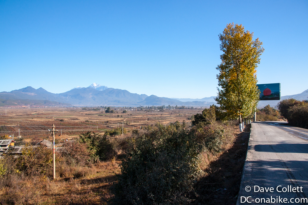 One valley over from Lijiang