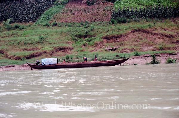 Daning River - Sampan