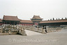 Beijing - Forbidden City - Moat in front of gate of Supreme Harmony 1