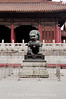 Beijing - Forbidden City -  Guardian in front of Gate of Supreme Harmony