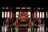 Beijing - Forbidden City - Emperors Throne in Hall of Preserving Harmony