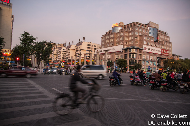 Intersection in Guilin