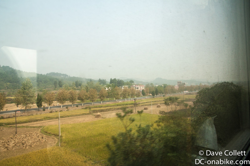 Countryside from the train
