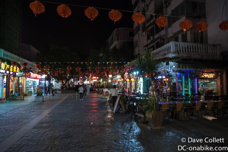 Street market, Guilin