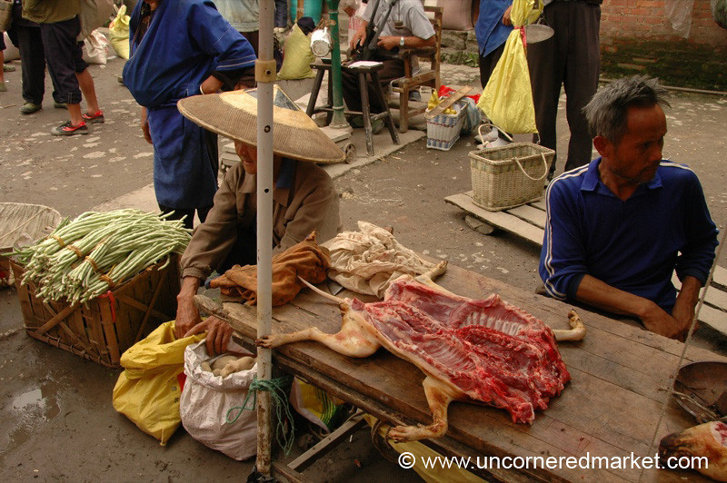 Dog Meat, Chong'an Market - Guizhou Province, China