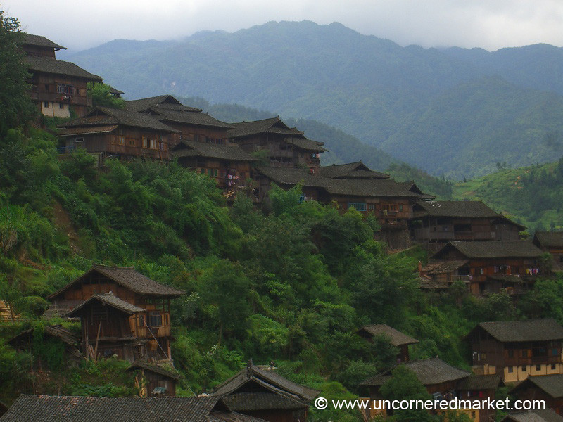 Miao Houses of Xijiang - Guizhou Province, China