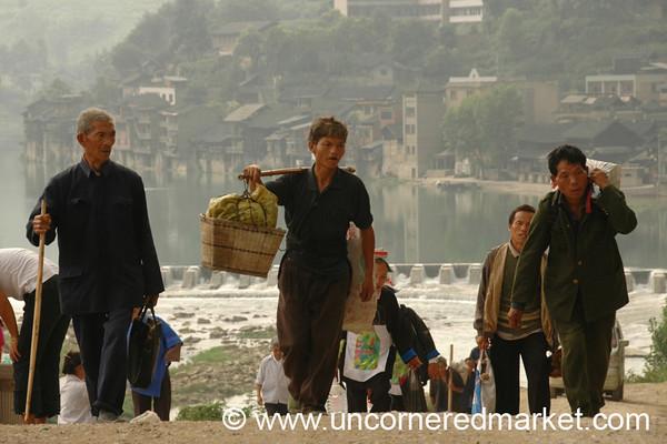 Men from Chong'an Market - Guizhou Province, China