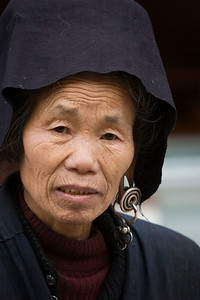 Miao woman in market
