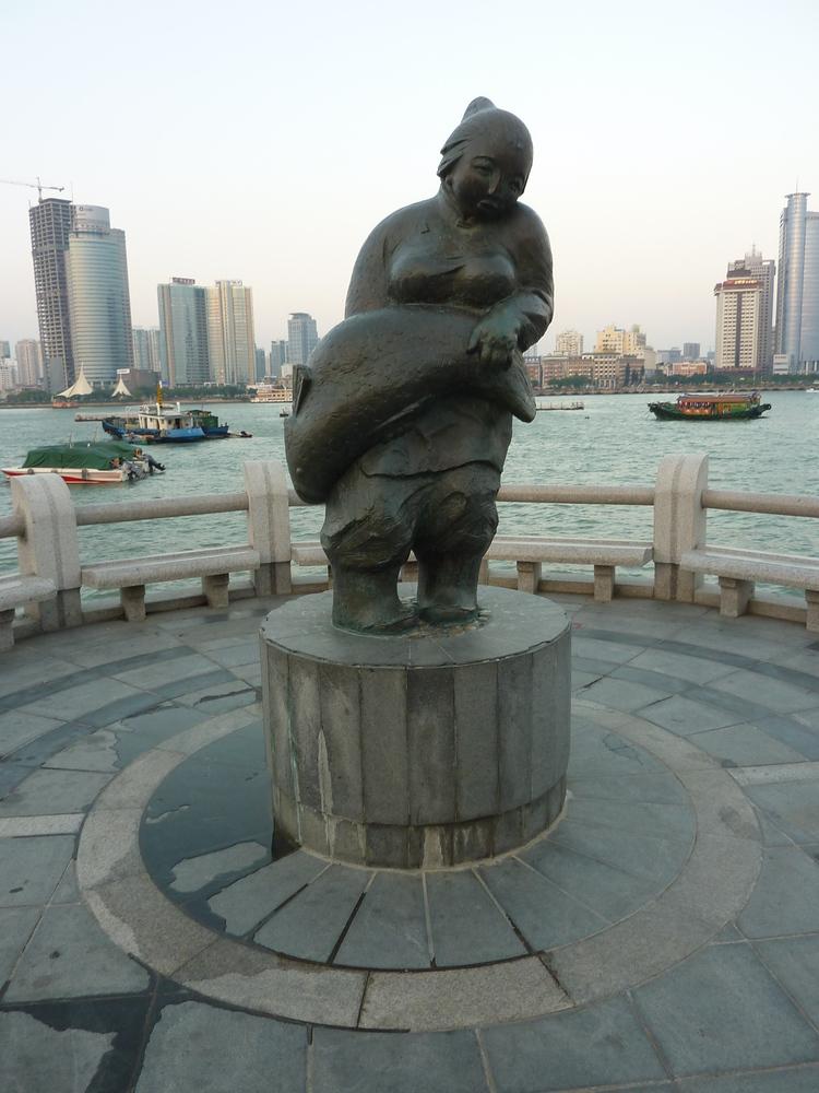 Fish Woman, Gulangyu Island - China