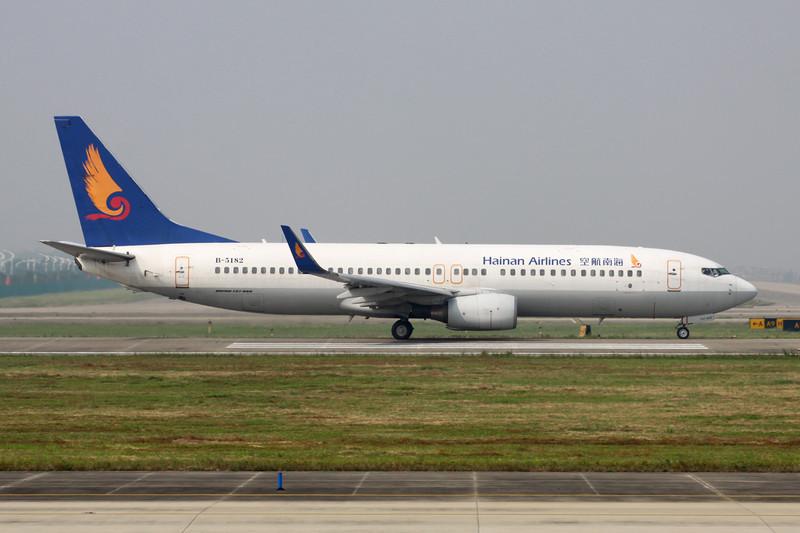 B-5182 Boeing 737-808 c/n 34708 Guangzhou/ZGGG/CAAN 15-11-12