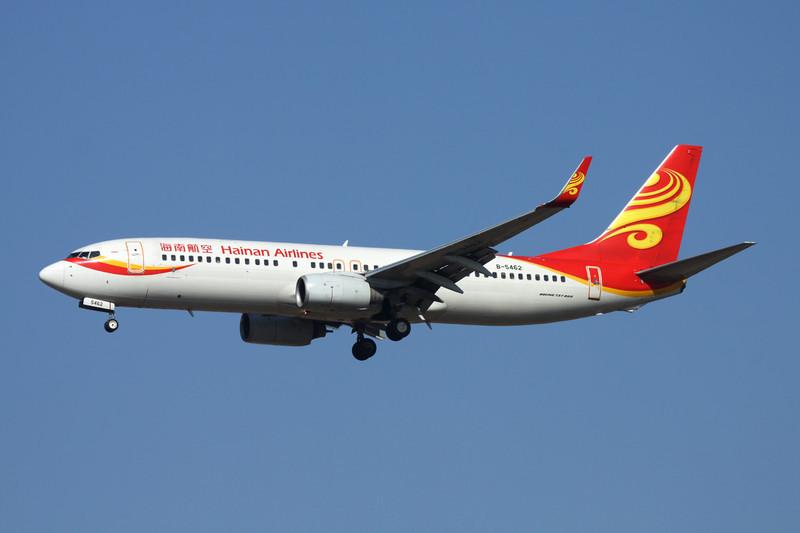 B-5462 Boeing 737-84P c/n 36780 Xi'an/ZLXY/XIY 11-11-12