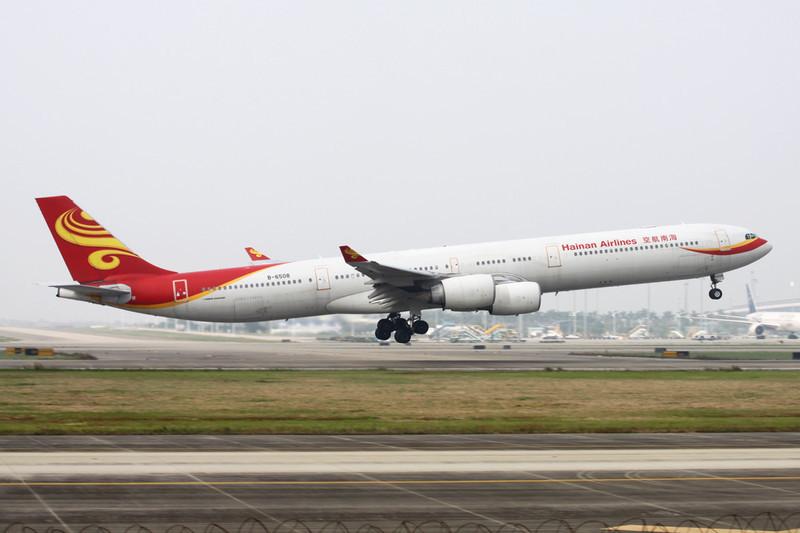 B-6508 Airbus A340-642 c/n 436 Guangzhou/ZGGG/CAN 14-11-12