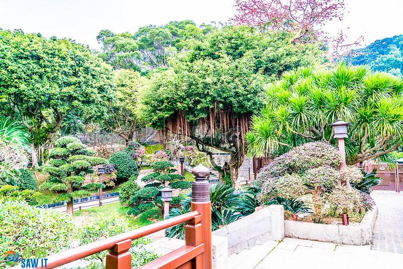 Nan Lian Garden entry area