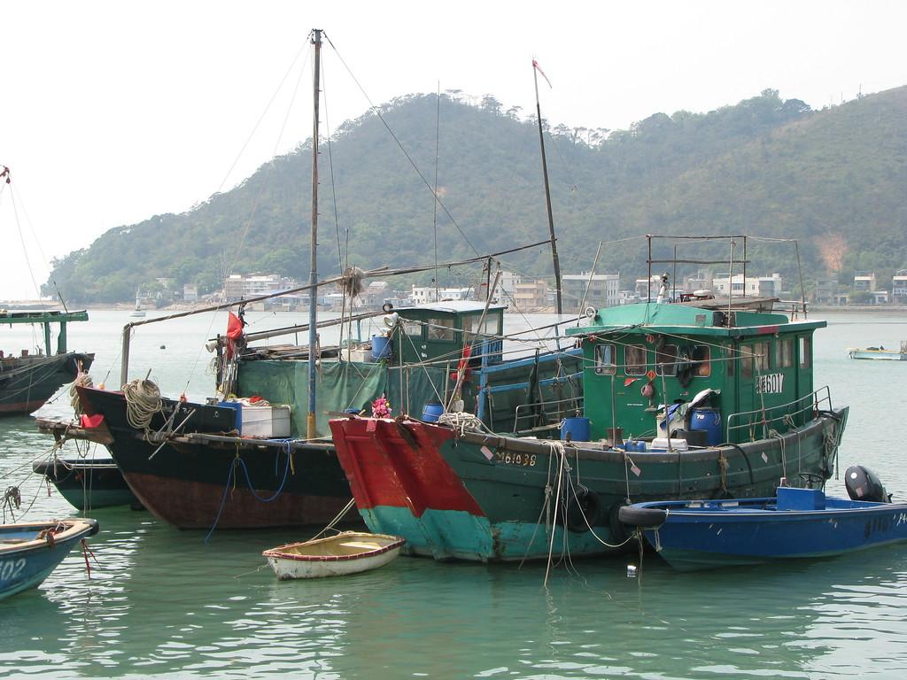 Tai-O Fishing Village, Hong Kong