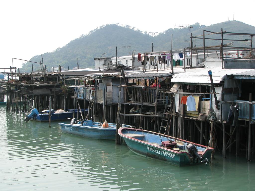 Tai-O Fishing Village - Hong Kong