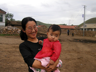 Inner Mongolia 2002, A very happy Mom