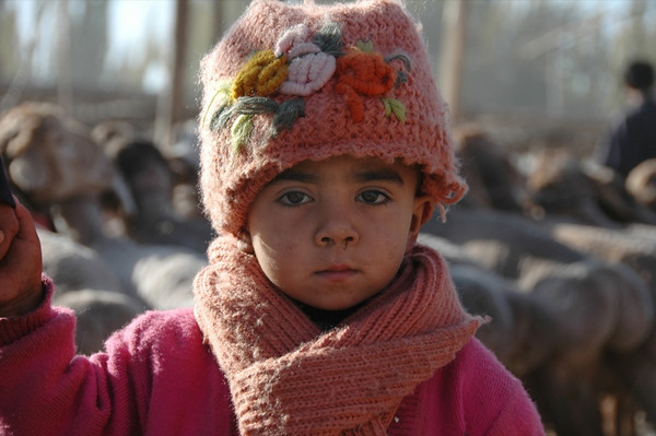 Young Uighur Girl - Kashgar, China