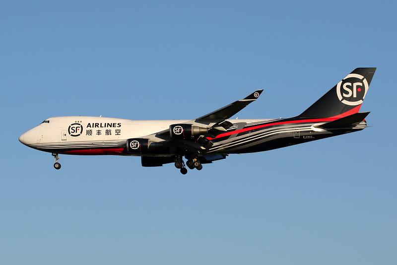 """B-2423 Boeing 747-4EVERF """"SF Airlines"""" c/n 35174 Liege/EBLG/LGG 30-07-20"""