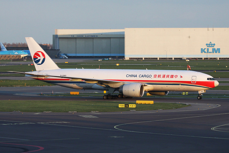 B-2083 Boeing 777-F6N c/n 37717 Amsterdam/EHAM/AMS 24-03-14