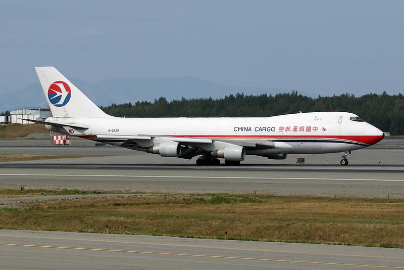 "B-2428 Boeing 747-412F ""China Cargo Airlines"" c/n 28263 Anchorage-International/PANC/ANC 10-08-19"