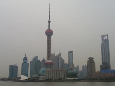 Pudong Skyline in Winter - Shanghai, China