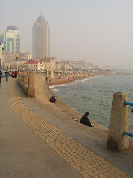 Seaside Winter Skyline - Qingdao, China