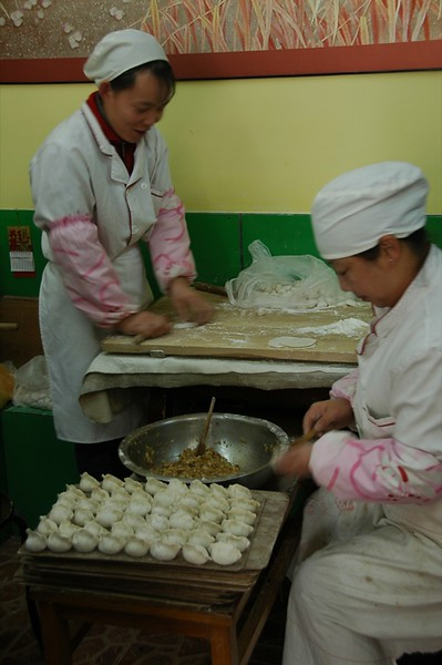 Jiaozi (Chinese Dumplings) - Qingdao, China