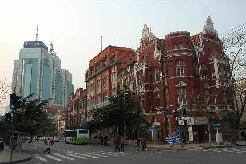 Downtown Qingdao - Qingdao, China