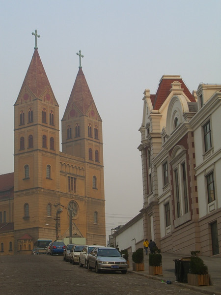European Architecture in Qingdao, China