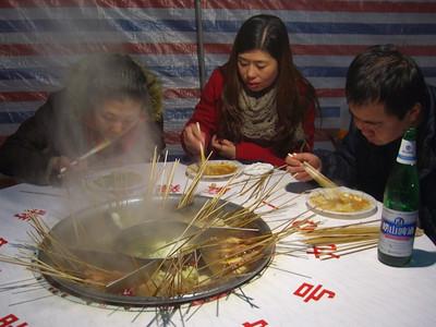 Street-Side Hot Pot - Qingdao, China