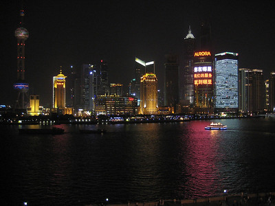 Picture of the Bund in Shanghai from across the river.