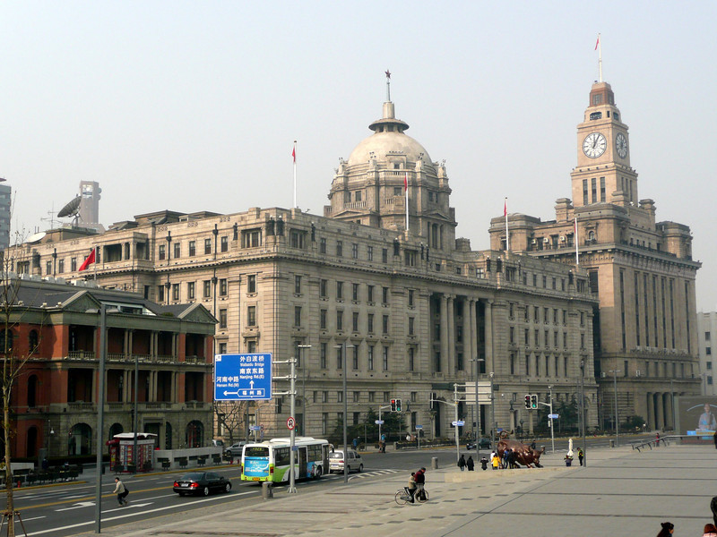The Bund, Jan 2011