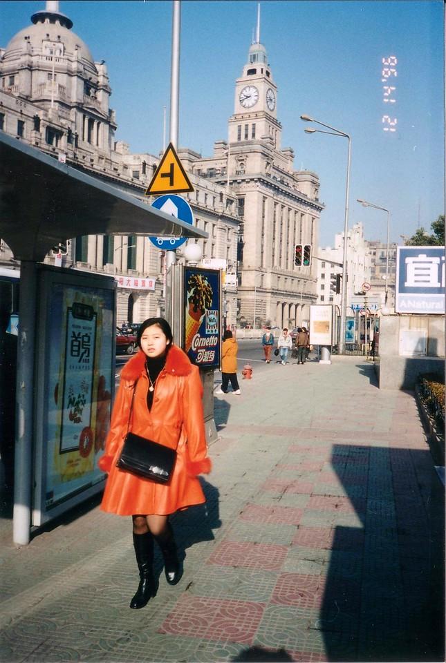 1996: Shanghai style on the Bund, Dec 1996
