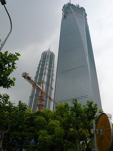 Shanghai World Trade Center, June 2007