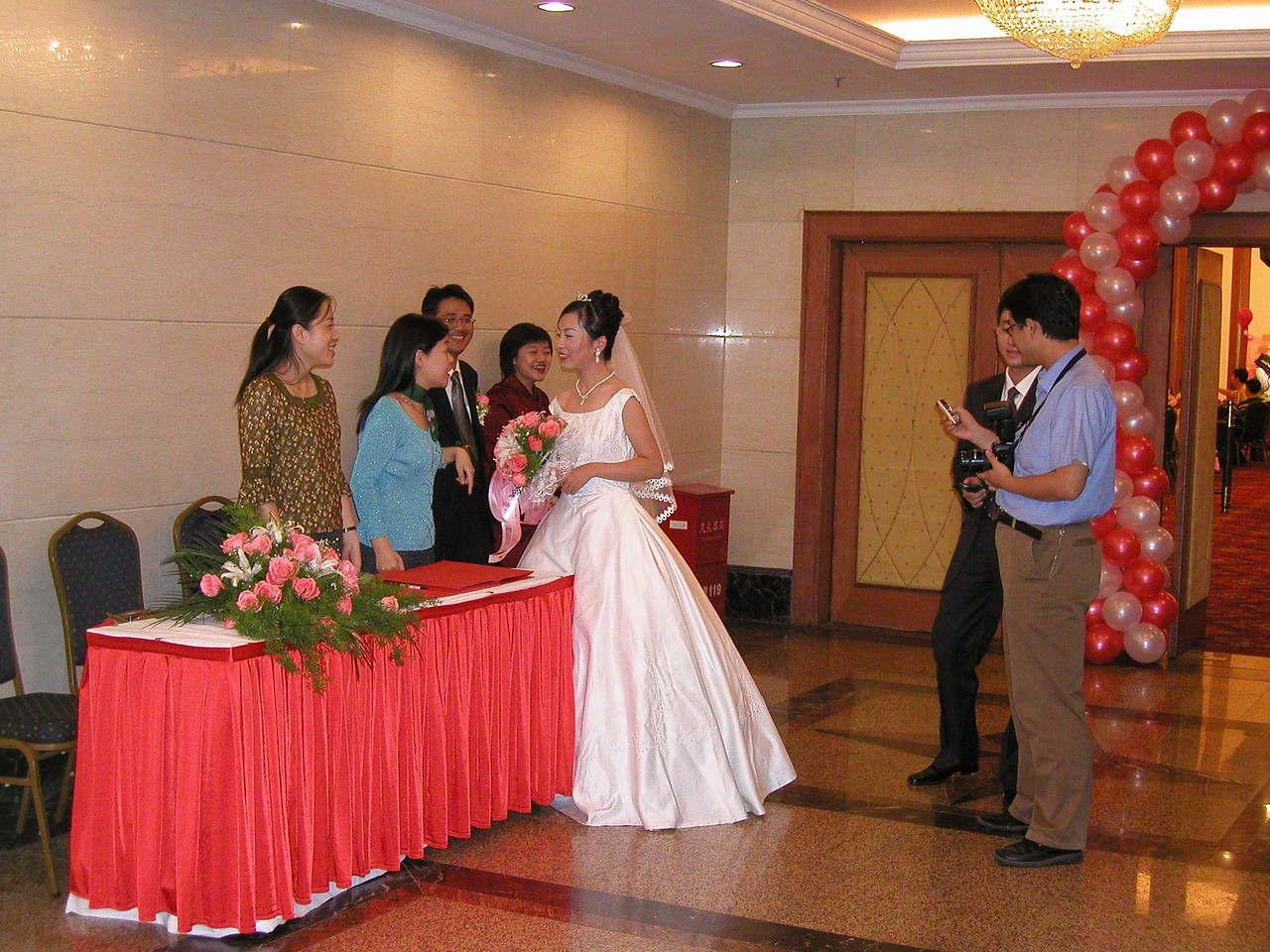 Shangahi wedding reception