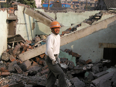 demolition worker, really friendly and spoke some English too.