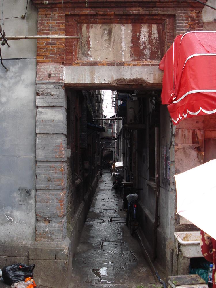 Alley Entrance