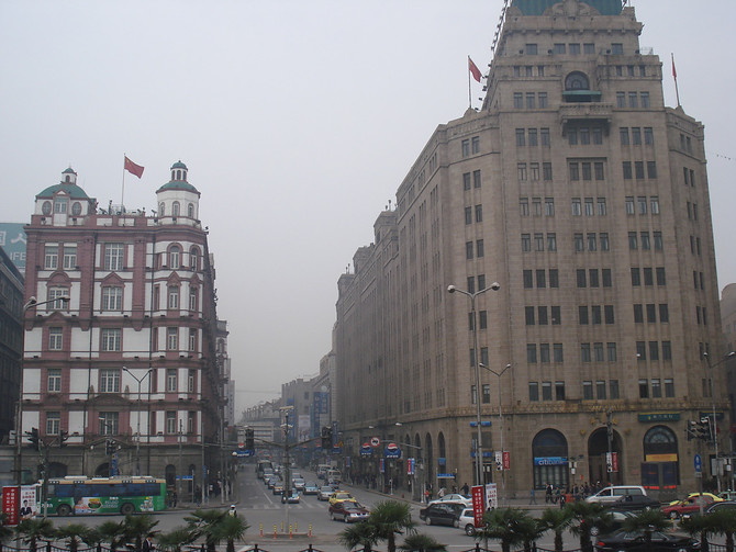 The South Building of Peace Hotel and Peace Hotel