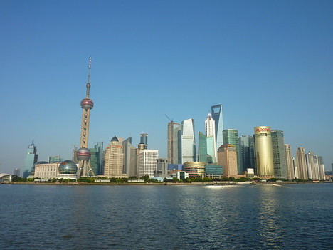 Pudong skyline, Shanghai - China