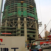 The Shanghai Tower under construction