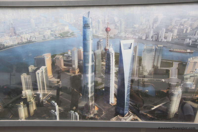 The Shanghai Tower concept drawings