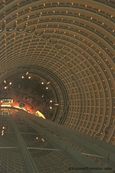 Jin Mao Tower interior